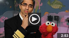 Video: Surgeon General and Elmo Team Up to Talk Vaccinations